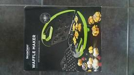New 3 in 1 waffle maker lime