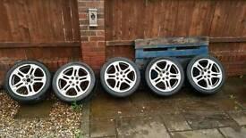 Impreza wrx wheels x5
