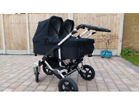 Easywalker Duo Double Pushchair Complete Twin Package incl cabriofix and easyfix