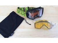 Smith Fuze Ski/Snowboard Goggles (2x Lenses)