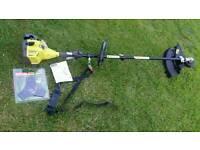 New Ryobi Petrol strimmer and shrub cutter