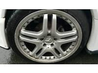 Mercedes alloys swap