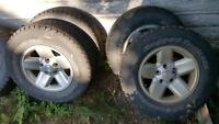 2002 Dodge 1500 rims and tires