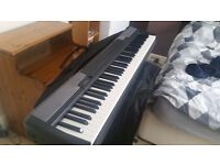 Casio cdp100 with £50 soft case, x stand , power supply original box excellent condition