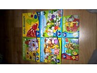 selection of 6 childrens games