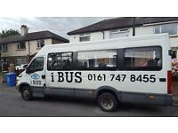 FORD IVECO MINI BUS 52 REG COIF MOT WHEELCHAIR ADAPTED