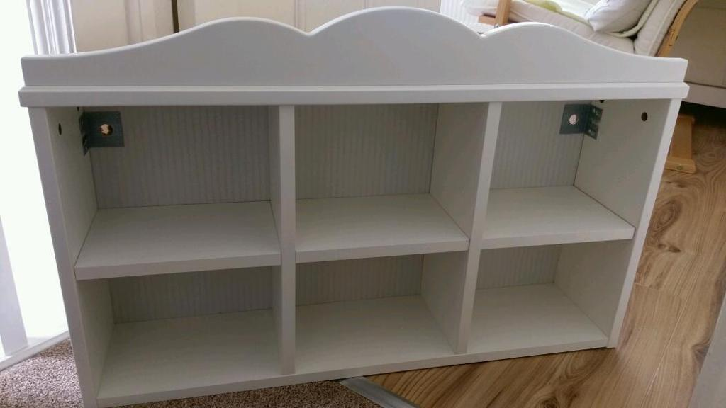 hensvik ikea white childrens wall shelf unit in hull. Black Bedroom Furniture Sets. Home Design Ideas