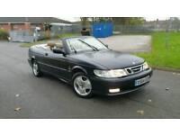 Saab 93 turbo petrol convertible hpi clear excellent drive