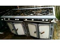 Commercial gas cooker 6 burners fully working