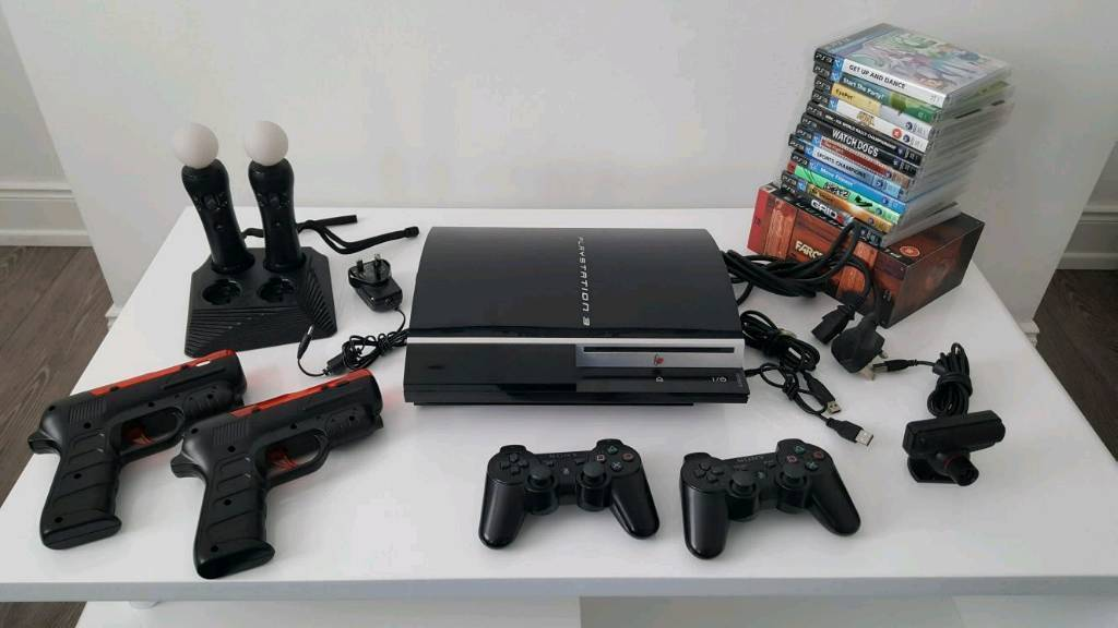 PS3 console with games bundle