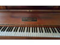 Vintage John Broadwood & son London piano