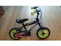 """Avigo blue 12"""" thunder kids bike - Collection from sw16"""