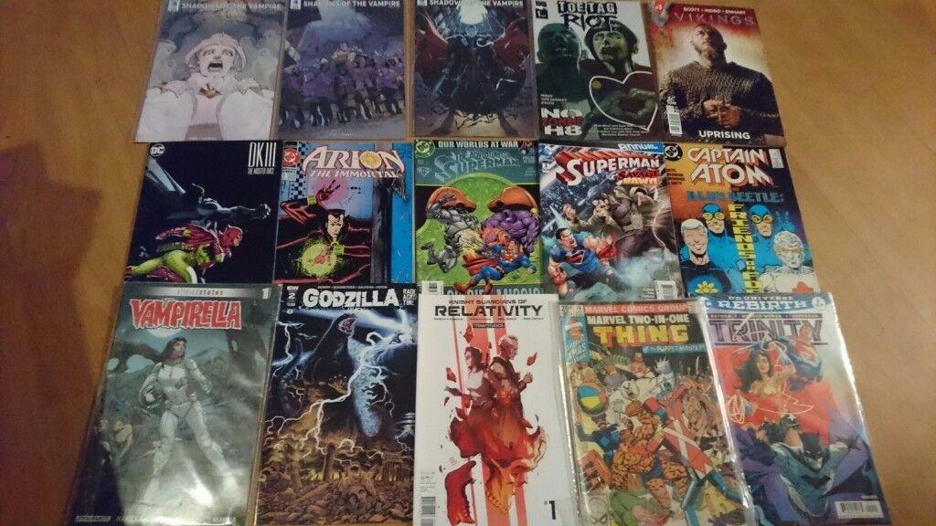 Comics joblot mix titles and publishers