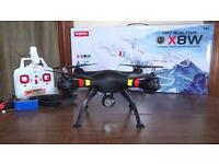 HD CAMERA RC DRONES 2.4GHZ REAL LIVR VIEW QUADCOPTER LONG RANGE COMPLETE BOXED