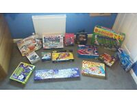 Games bundel 14 games 11 brand new 3 played with but still in original box and in as new condition.