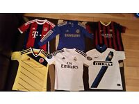 Boys bundle football tops