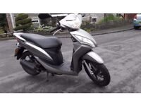 Excellent condition, well maintained Honda 50cc Scooter for sale. Datatagged, 2 keys, dry running,