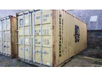 2 x 20ft containers available for rent