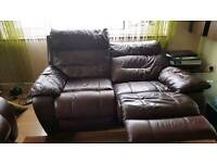 For sale 3+2 reclining sofas