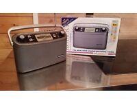 Roberts portable DAB radio, nearly new