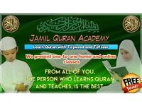Jamil Quran Academy - One-to-One Online and Home Classes with Tajweed Male and Female Teacher