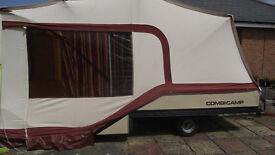 COMBI CAMP FOLDING CAMPER/TRAILER TENT