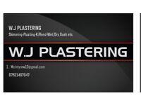 W.J PLASTERING