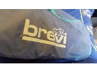 Brevi travel cot with mattress folding one very gd conditions