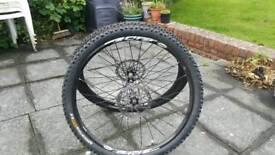 "Mavic Crossride 26"" MTB wheels"