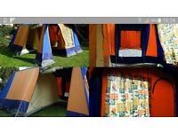 sunncamp residence 6. frame tent.