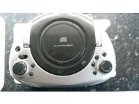 Home Retail Group Portable Boombox + AIWA CD Stereo Radio Cassette player