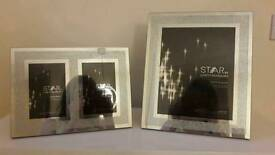 Sparkly picture frames