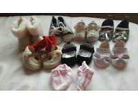 Baby shoes from 0 to 6 months