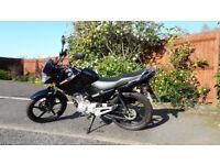Nearly New Yamaha YBR 125cc