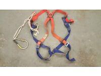 Meckel full scaffolding harness