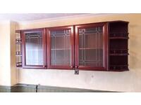 Kitchen/Dining Room Wall cabinets.