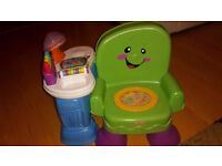 Fisher Price Laugh and Learn musical chair !!