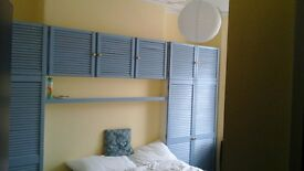 Double furnished room in house, St Judes, Plymouth.