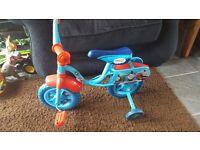 Small boys thomas and friends bike.