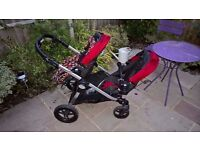 Double buggy for sale - Baby Jogger City Select in Excellent Condition - available NOW