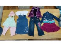 Girls clothes age 3 to 4 years