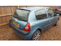 Renault Clio dynamic 1200cc 16v petrol 54plate view hinckley or rugby