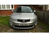 2011 Honda Civic 1.8 i VTEC Si-T 5dr Hatchback 41,500 miles Manual 1.8L Petrol