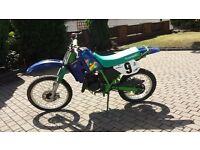kawasaki kmx 125cc. ktm kx crf cr