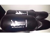 MMA Training Sports Shin Instep Pads