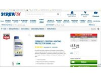 FERNOX F1 CENTRAL HEATING PROTECTOR. RRP £18.99