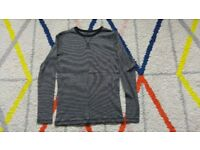 H&M basic organic cotton boys 8-10 years Long Sleeve Top And 10-12 years
