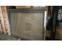 Velux Window UK04 centre pivot window frosted glass