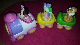 Minnie mouse train