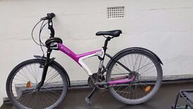 BTWIN women hybrid bike